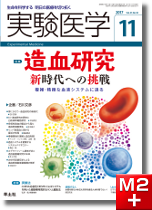 実験医学2017年11月号 造血研究―新時代への挑戦