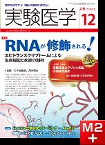 実験医学2018年12月号 RNAが修飾される!エピトランスクリプトームによる生命機能と疾患の制御