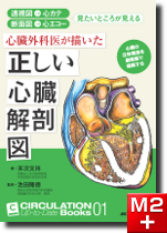 CIRCULATION Up-to-Date Books01 心臓外科医が描いた正しい心臓解剖図